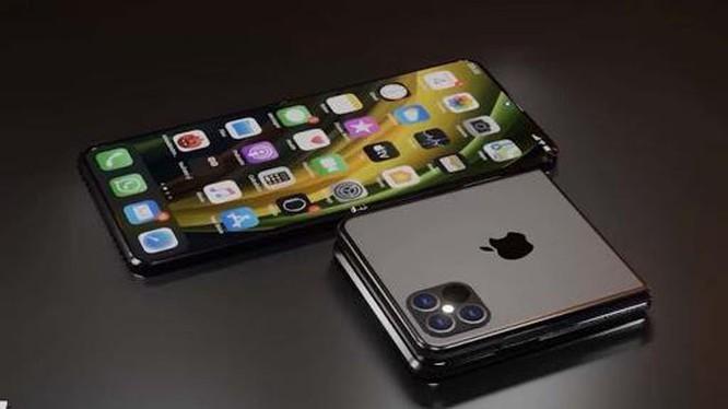 The gioi ra man hinh gap, iPhone van chua co... toan man hinh