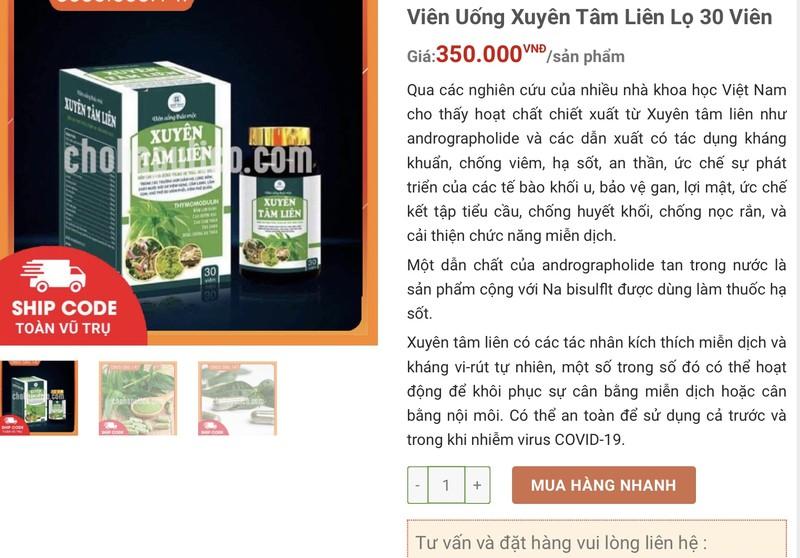 Loan gia Xuyen tam lien: Nguoi mua coi chung ngam