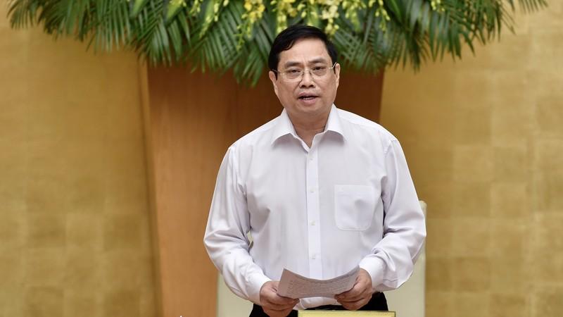 """Thủ tướng Phạm Minh Chính: """"Chính phủ cần bắt tay ngay vào công việc"""""""