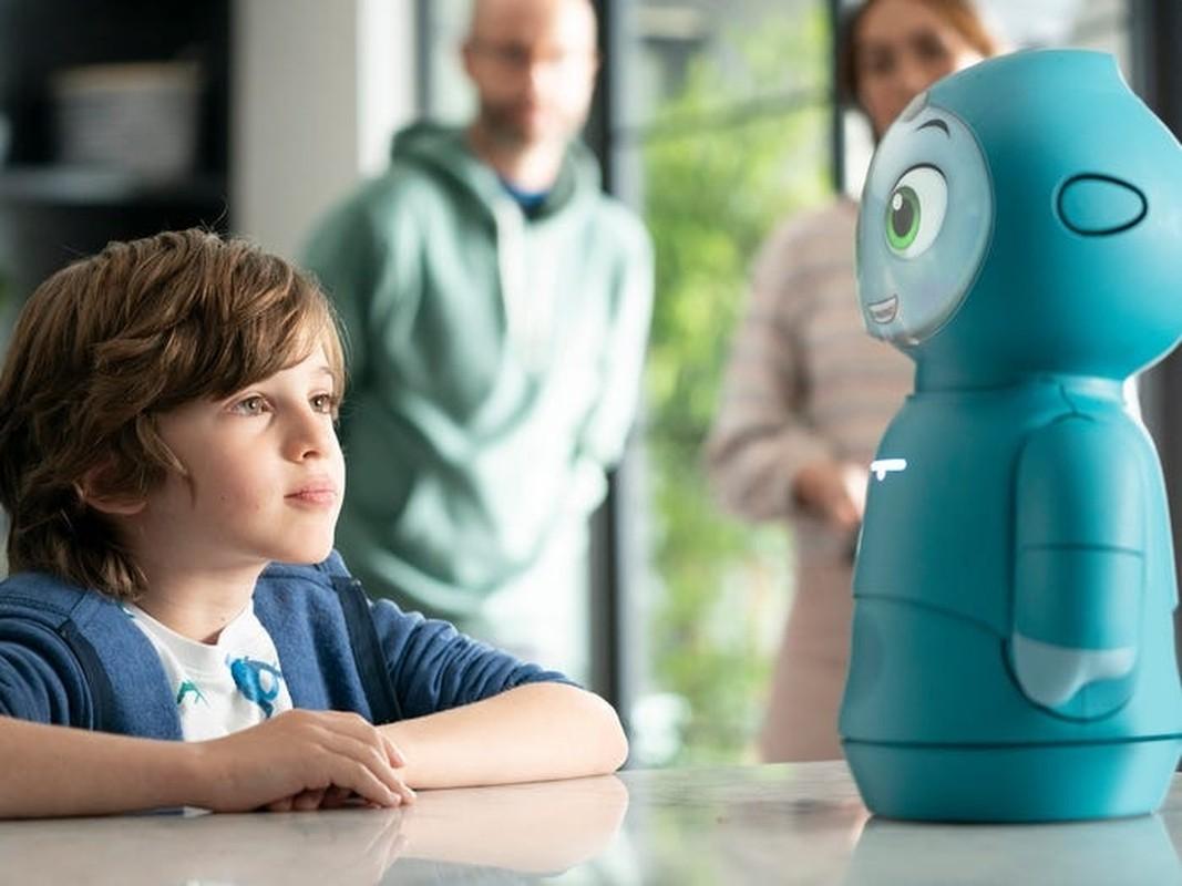 "Robot ""cute lac loi"" Moxie co kha nang lam ban voi tre em-Hinh-5"