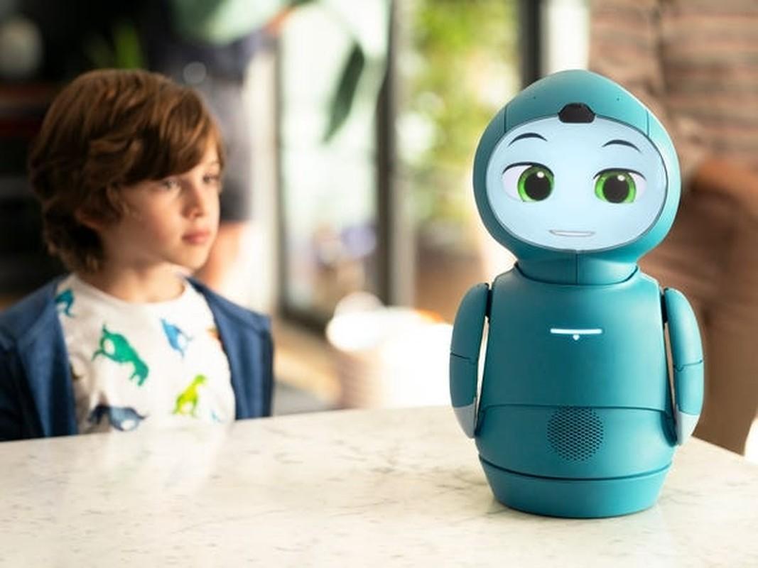 "Robot ""cute lac loi"" Moxie co kha nang lam ban voi tre em"
