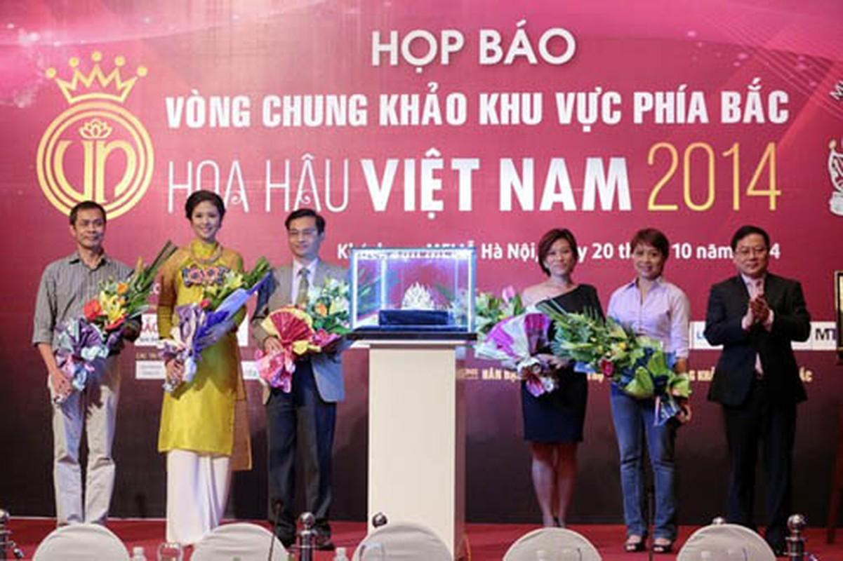 "Xem vuong mien hoa hau Viet Nam ""doi gia"" tung nam-Hinh-14"