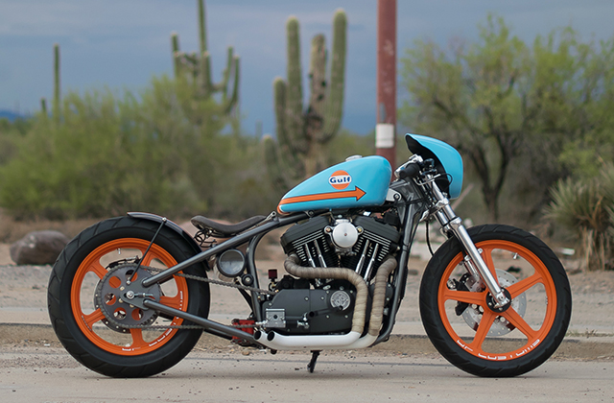 Harley Sportster 1200cc 2001 do cuc doc voi dan ao xi tin