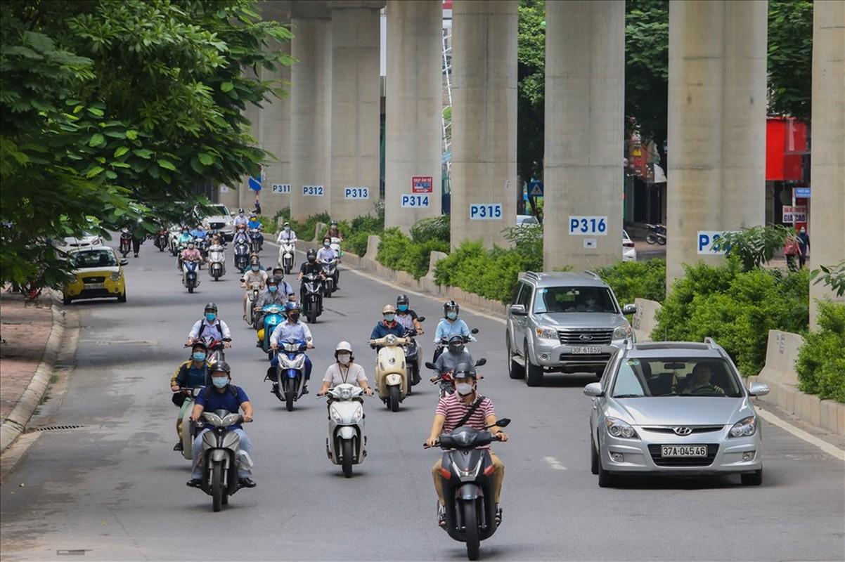 """Duong Ha Noi dong duc tro lai trong cac khu vuc """"vung xanh""""-Hinh-6"""