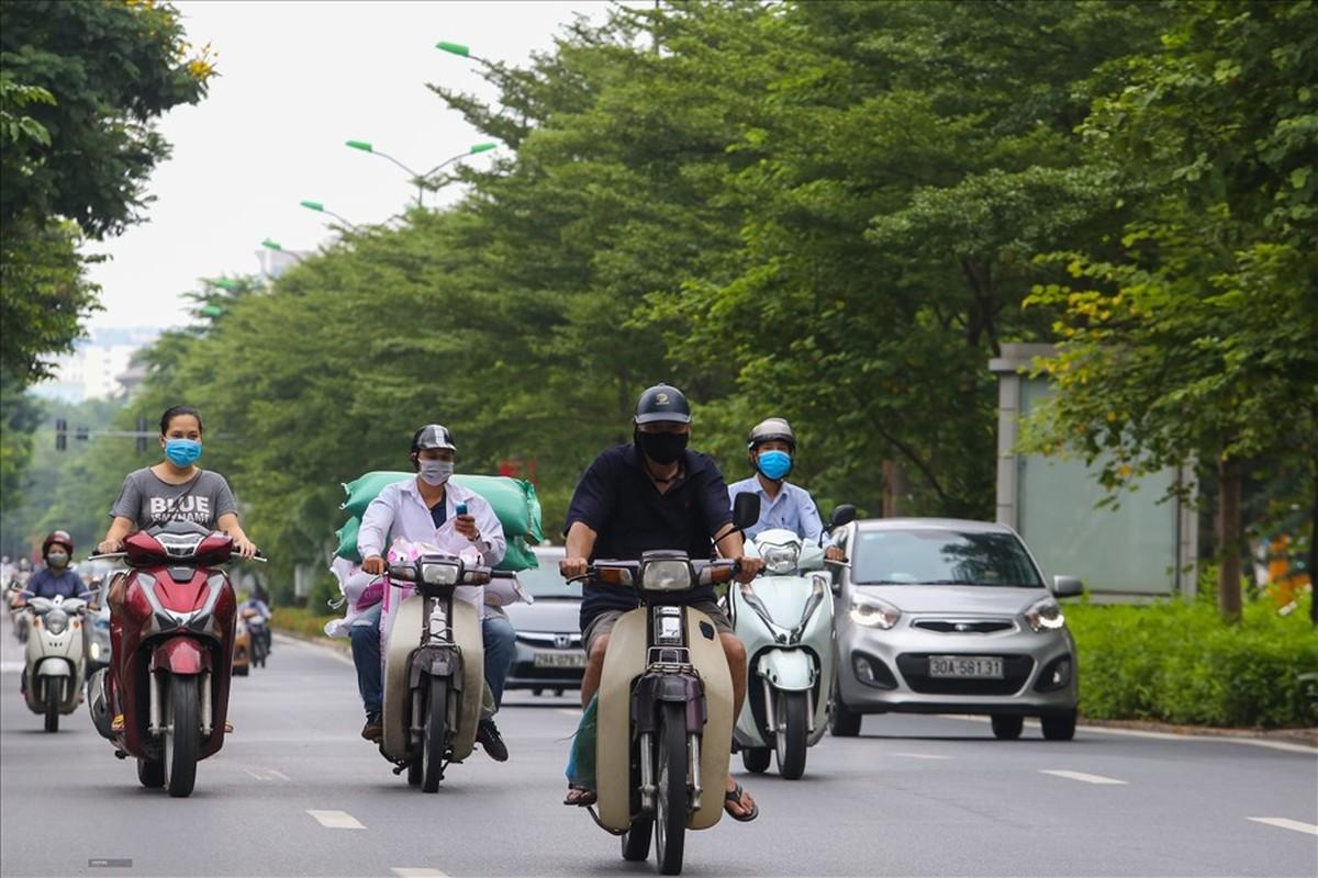 """Duong Ha Noi dong duc tro lai trong cac khu vuc """"vung xanh""""-Hinh-7"""