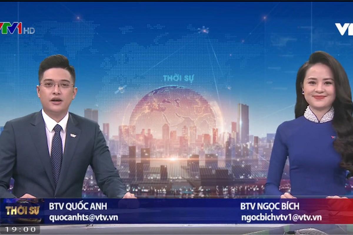 Nhan sac BTV Ngoc Bich vua len song Thoi su 19h VTV-Hinh-2