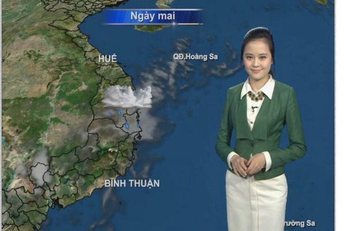 Nhan sac BTV Ngoc Bich vua len song Thoi su 19h VTV-Hinh-5