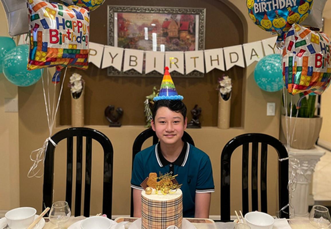 Con trai cua Quang Dung - Jennifer Pham cao 1m72, chung chac o tuoi 13-Hinh-11