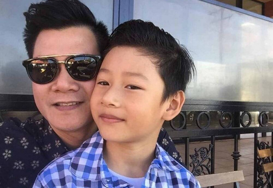 Con trai cua Quang Dung - Jennifer Pham cao 1m72, chung chac o tuoi 13-Hinh-15