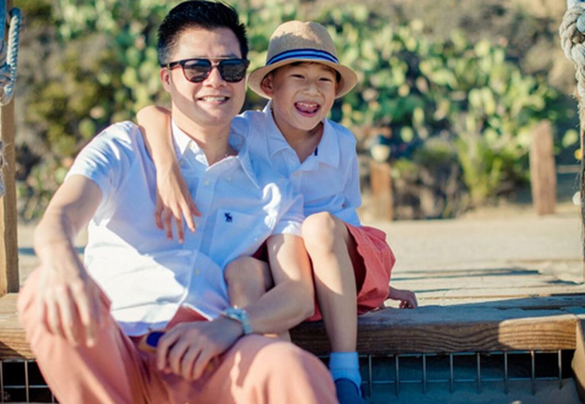 Con trai cua Quang Dung - Jennifer Pham cao 1m72, chung chac o tuoi 13-Hinh-17