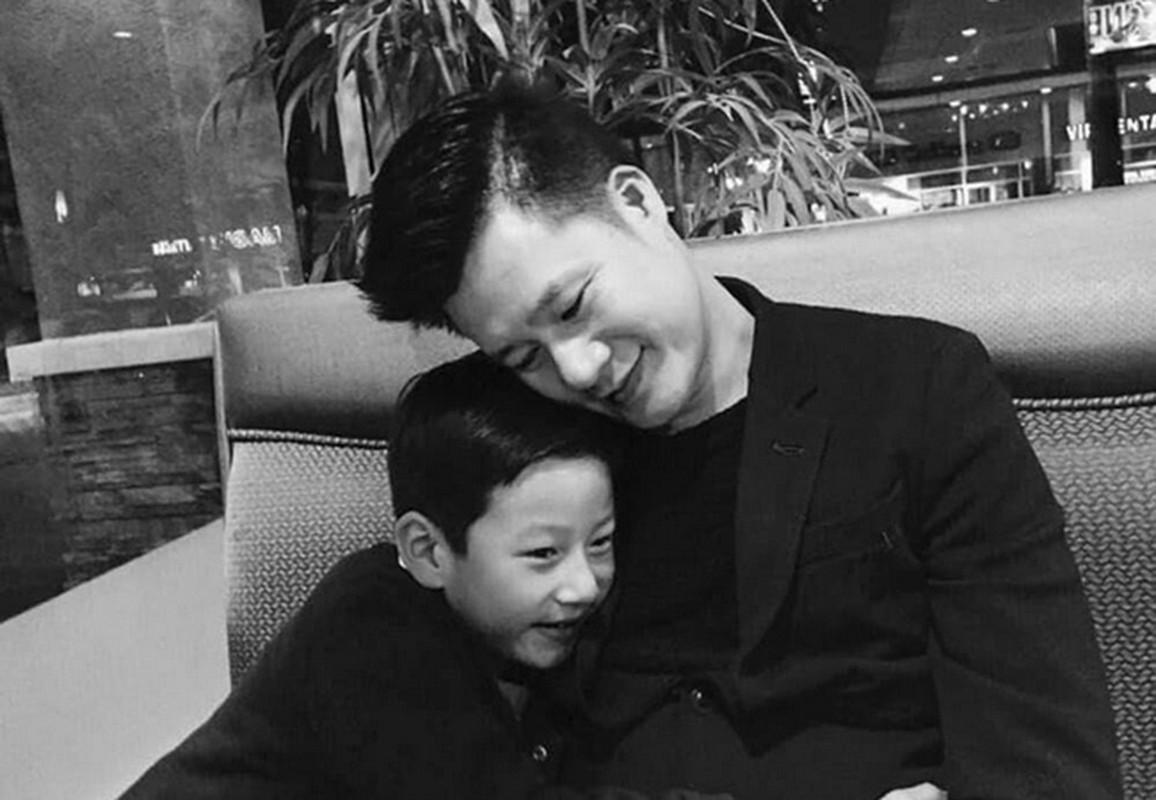 Con trai cua Quang Dung - Jennifer Pham cao 1m72, chung chac o tuoi 13-Hinh-18