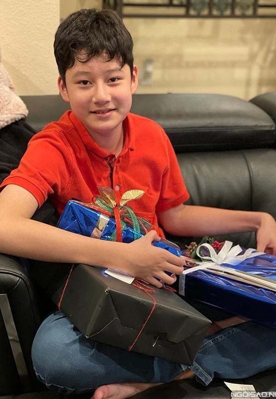 Con trai cua Quang Dung - Jennifer Pham cao 1m72, chung chac o tuoi 13-Hinh-8
