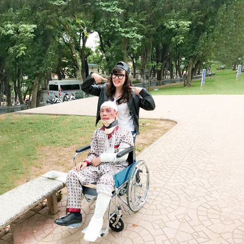 Thanh Lam ngot ngao chuc mung sinh nhat ban trai bac si-Hinh-6
