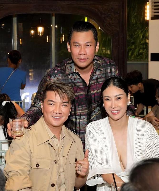 Chong cu to chuc sinh nhat xa xi cho con trai, Le Quyen vang mat-Hinh-8