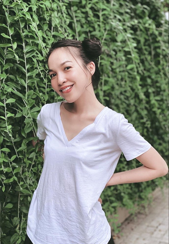 Ho Ngoc Ha - Kim Ly hanh phuc ben ba con trong ngay nghi le-Hinh-15