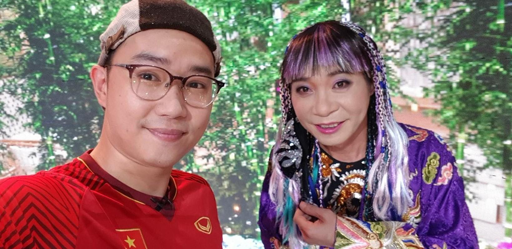 NSND Thu Ha xinh dep tre trung du hon MC Thuy Van 17 tuoi-Hinh-8