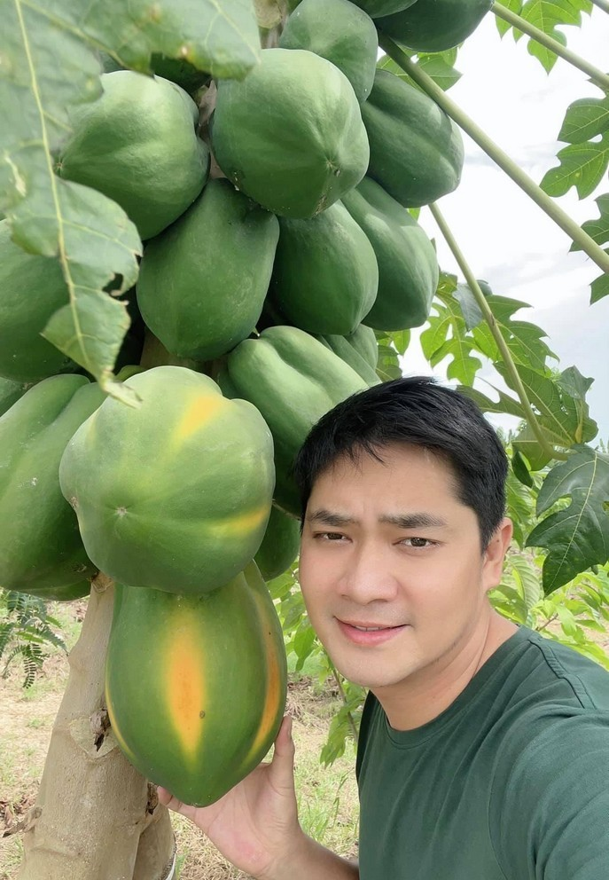 Minh Luan ve que Dong Thap cham manh vuon 2.000 m2-Hinh-5