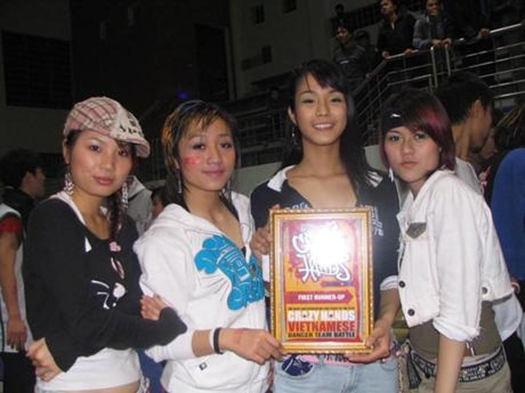 Anh Diep Lam Anh thoi con nhay hiphop nhom Big Toe gay choang-Hinh-5