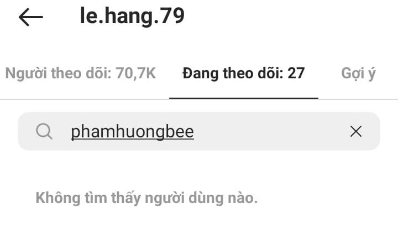 Bang chung Pham Huong - Le Hang