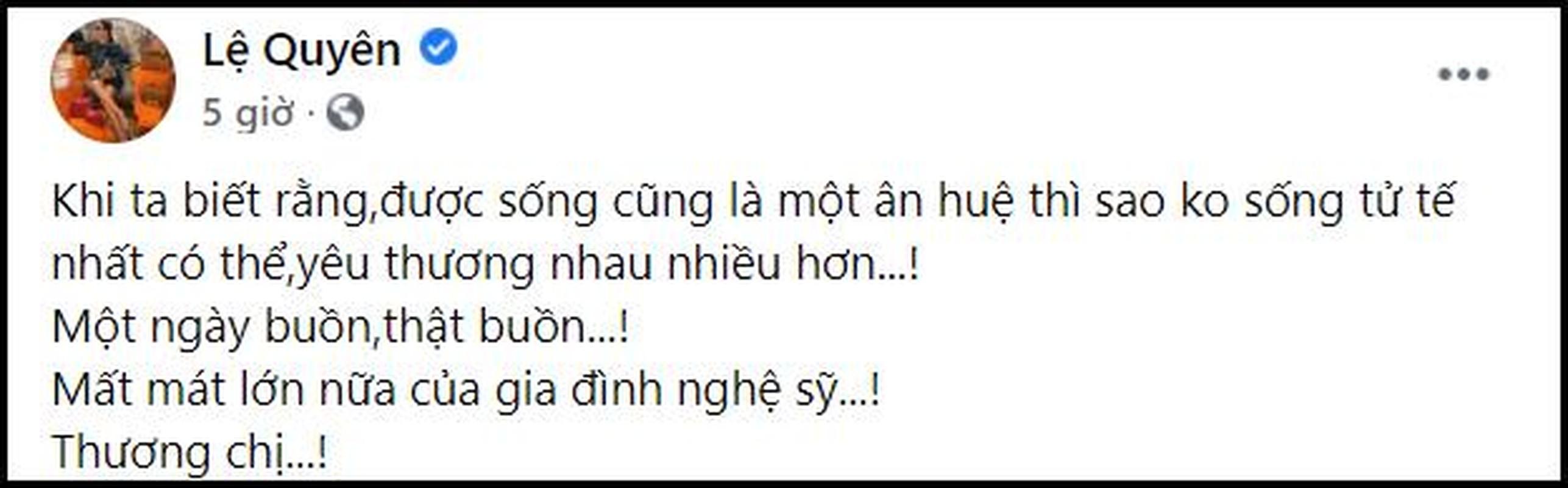 Tranh cai hanh dong cua Le Quyen ngay Phi Nhung qua doi-Hinh-2