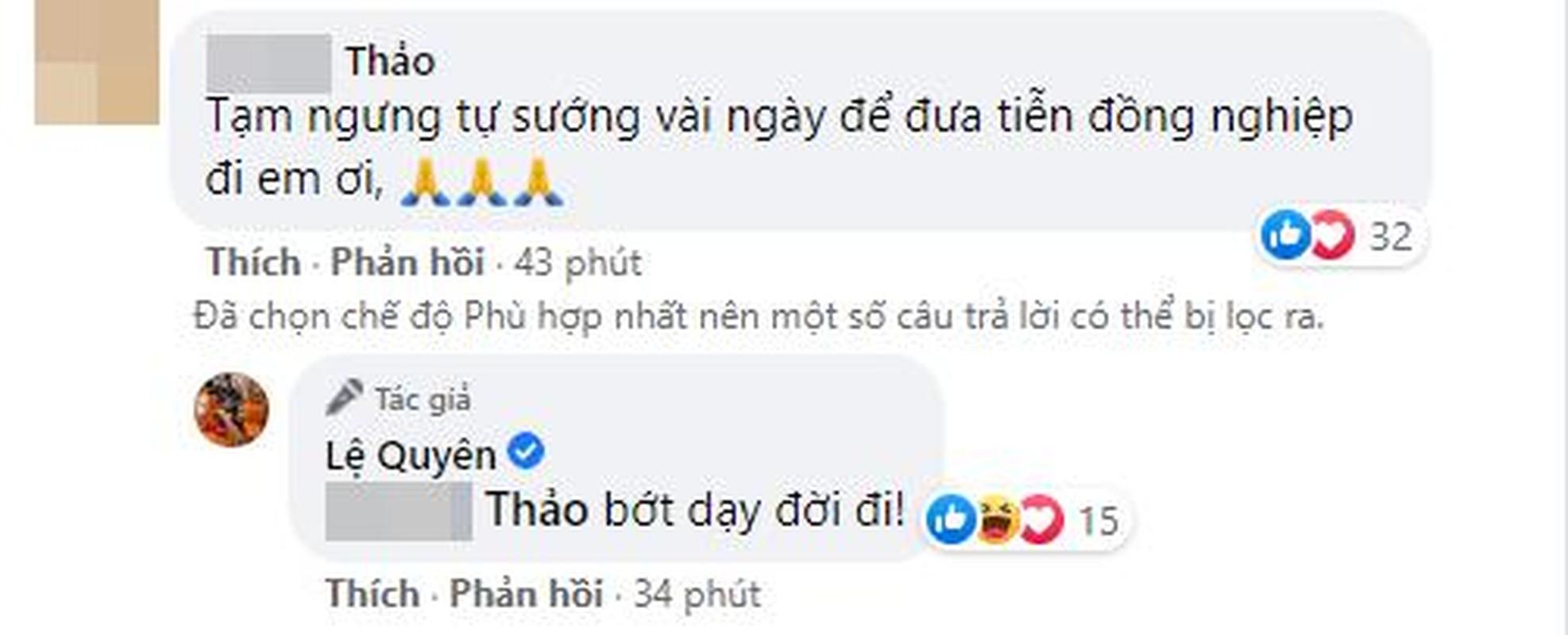Tranh cai hanh dong cua Le Quyen ngay Phi Nhung qua doi-Hinh-4