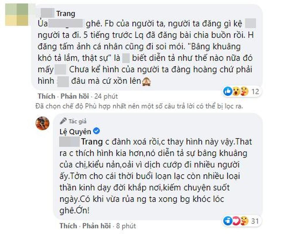 Tranh cai hanh dong cua Le Quyen ngay Phi Nhung qua doi-Hinh-9