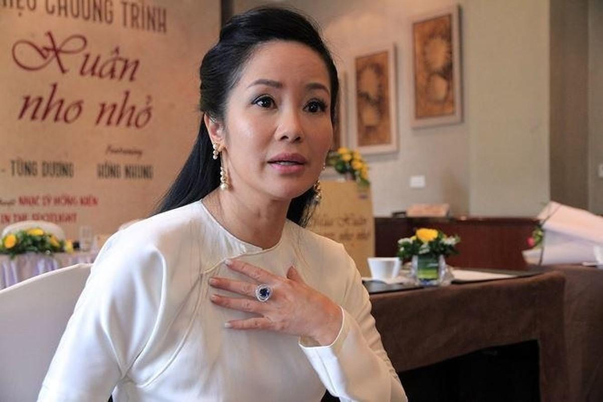 Diva Hong Nhung thay xau ho ve ban than