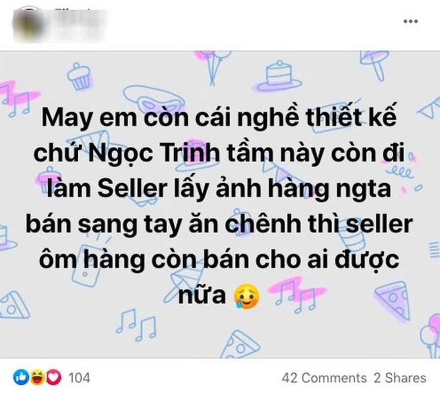 Ngoc Trinh nhieu phen e che vi nghi xai hang fake