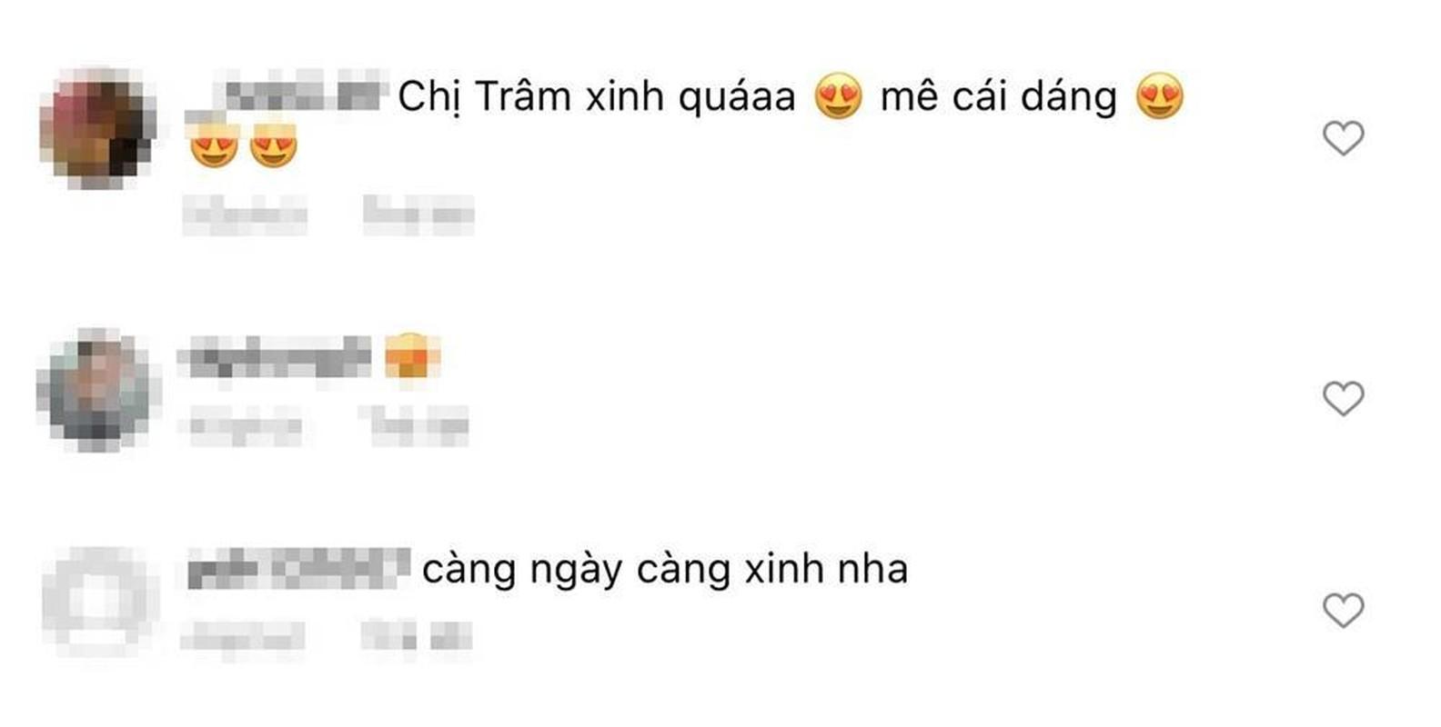 Thieu Bao Tram khoe anh