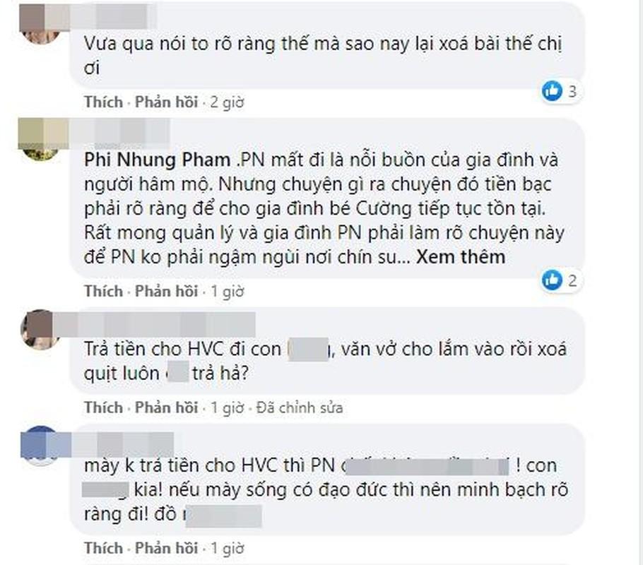 Het 10/10, dan mang chat van quan ly Phi Nhung