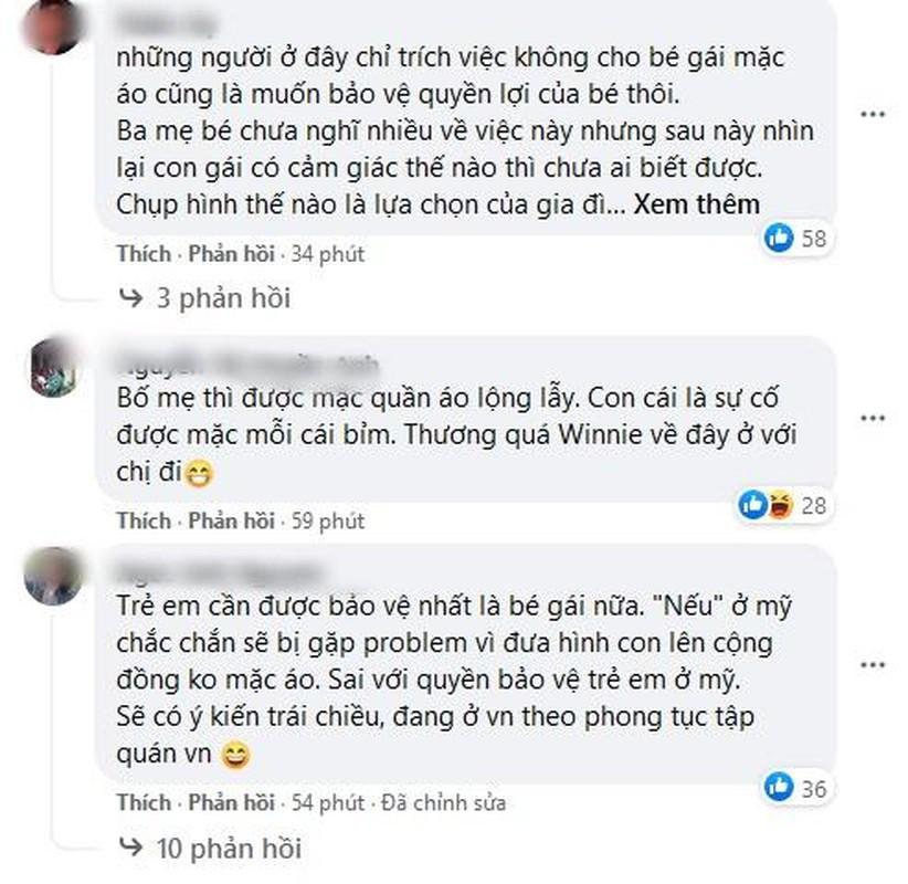 Anh sinh nhat Dong Nhi bi chi trich vi de be Winnie
