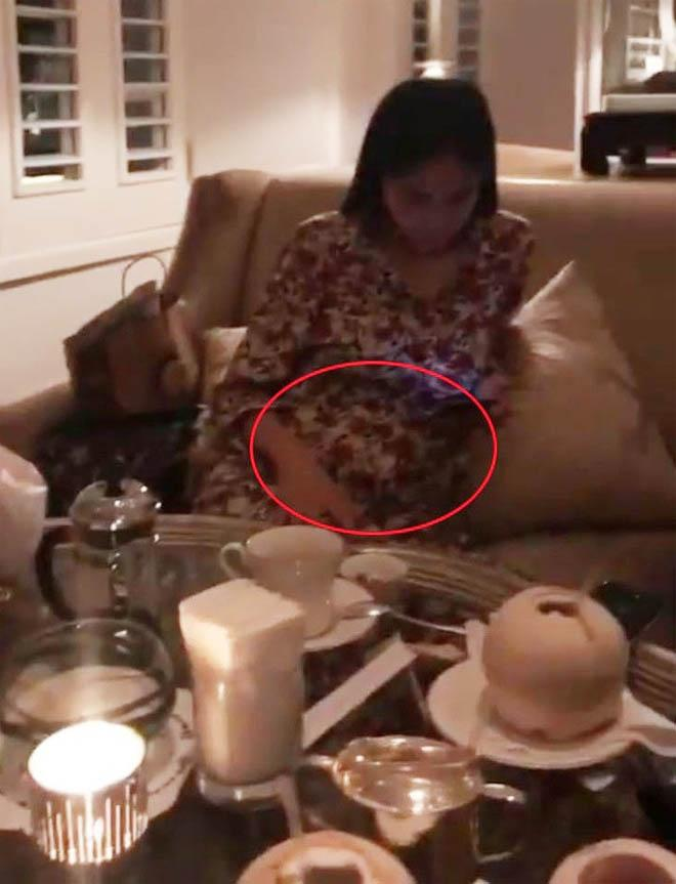 Thuy Tien bung lum lum nghi mang thai: Luc phu nhan, khi lang im-Hinh-8