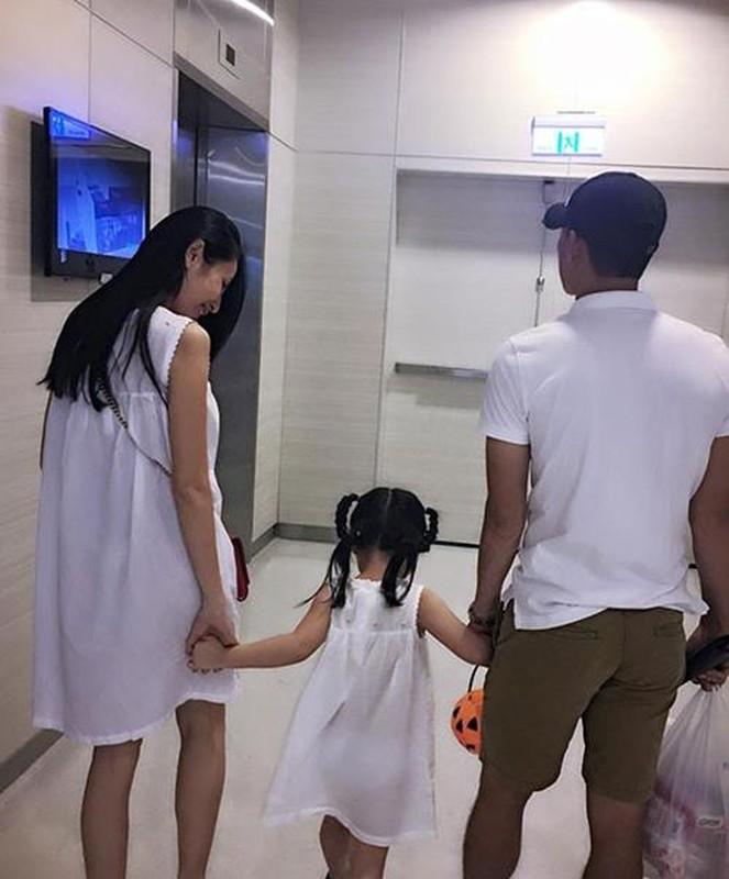 Thuy Tien bung lum lum nghi mang thai: Luc phu nhan, khi lang im