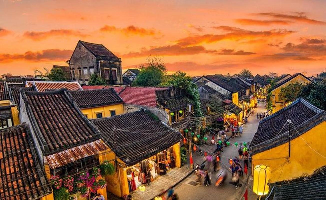 Top thanh pho du lich hang dau chau A: Co pho co Hoi An!