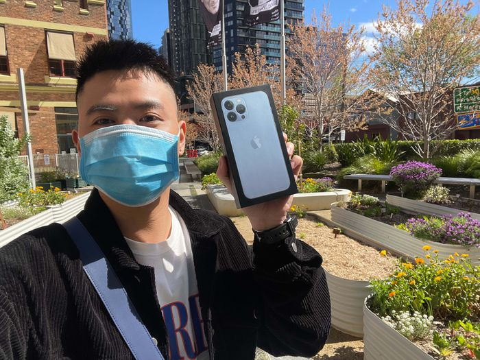 Sot xinh xich anh chi tiet iPhone 13 Pro Max