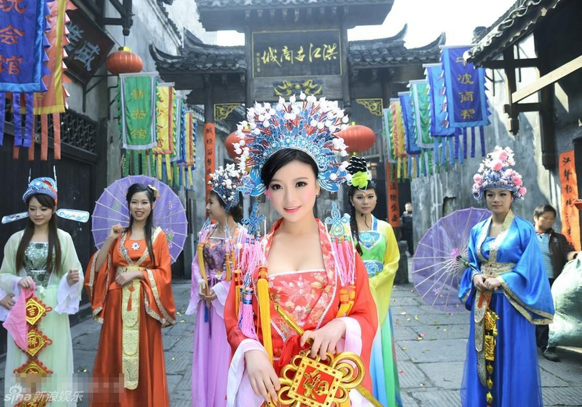 Nhan sac nu than tai xinh dep nhat Trung Quoc gay sot-Hinh-2