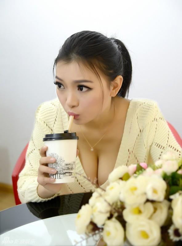 Nhan sac nu than tai xinh dep nhat Trung Quoc gay sot-Hinh-6