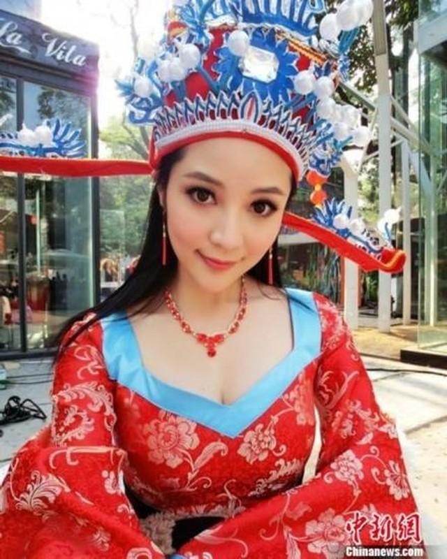Nhan sac nu than tai xinh dep nhat Trung Quoc gay sot