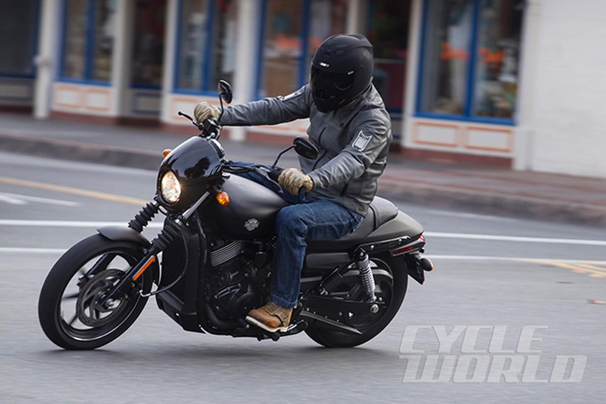 Moto Harley-Davidson Street 750 co gia 300 trieu dong tai VN-Hinh-3