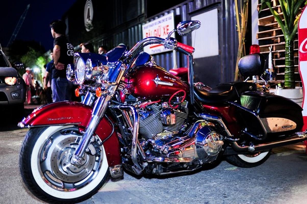 60 moto Harley-Davidson dieu hanh ram ro o Sai Gon-Hinh-4