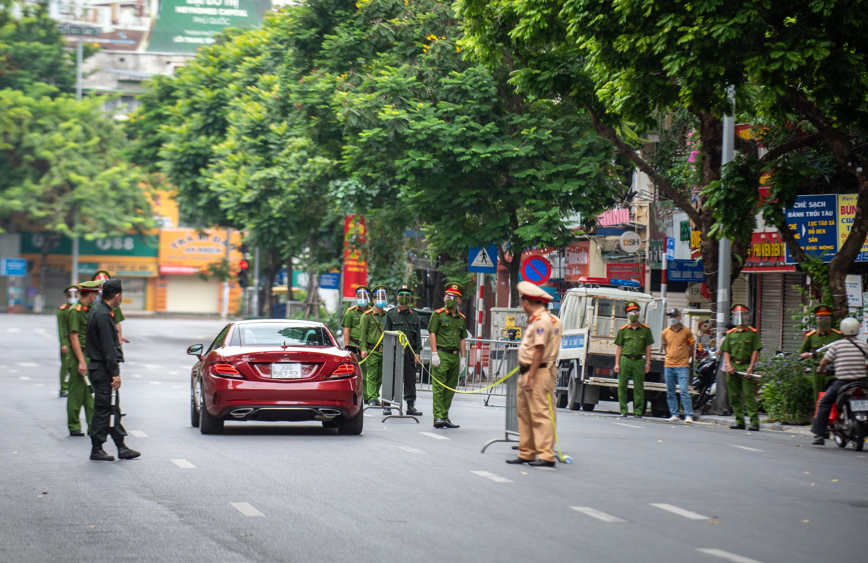 Xu phat cac truong hop ra duong khong ly do vao ngay 2/9