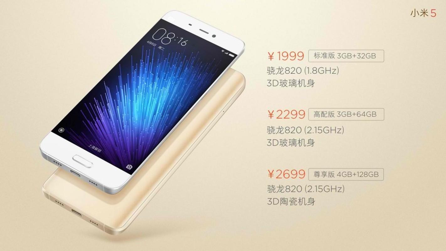 Ngam dien thoai Xiaomi Mi 5 vua chinh thuc trinh lang-Hinh-14