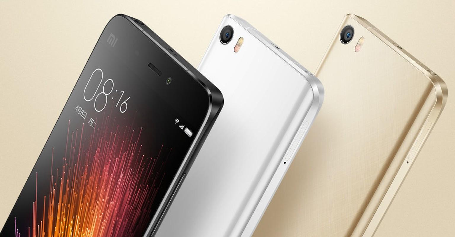 Ngam dien thoai Xiaomi Mi 5 vua chinh thuc trinh lang-Hinh-2
