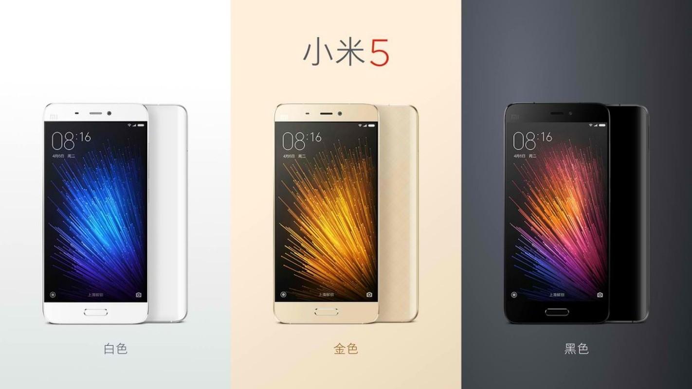 Ngam dien thoai Xiaomi Mi 5 vua chinh thuc trinh lang-Hinh-3