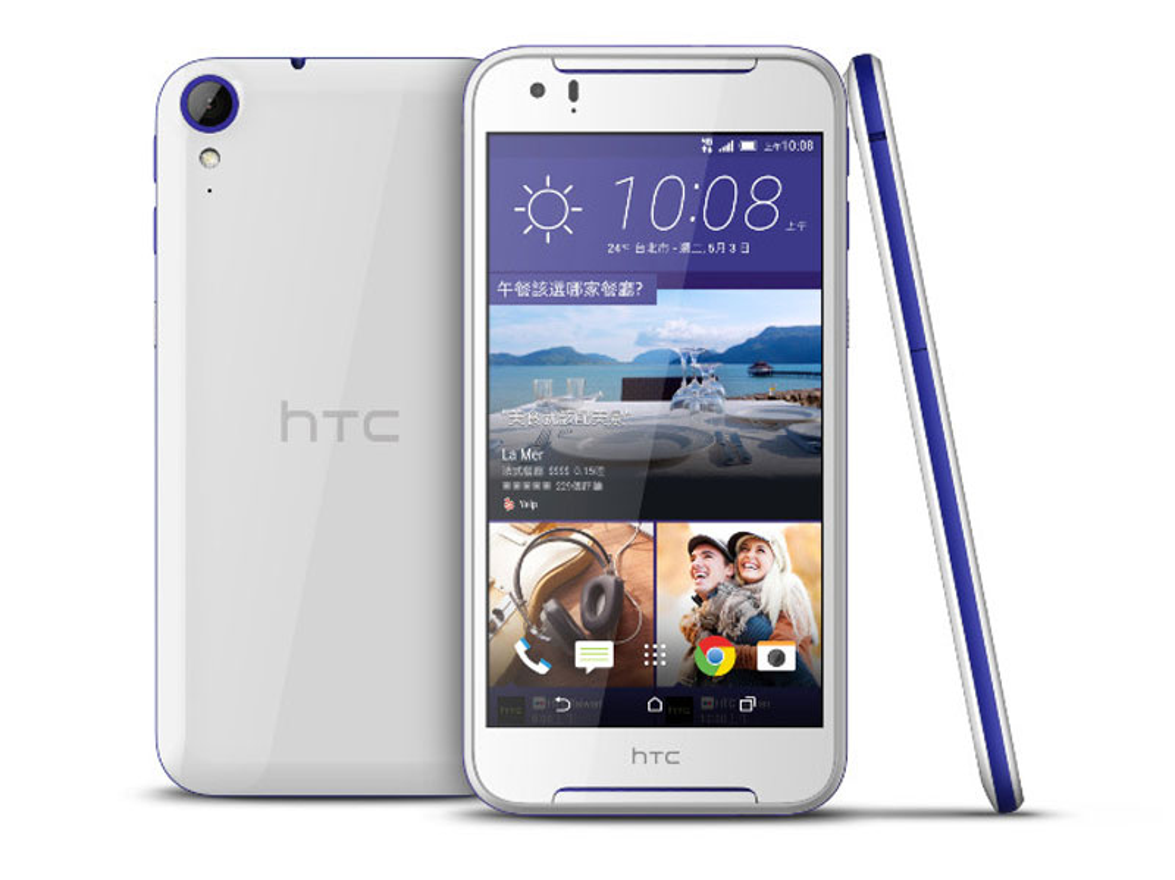 Soi dien thoai tam trung HTC Desire 830, camera ho tro OIS