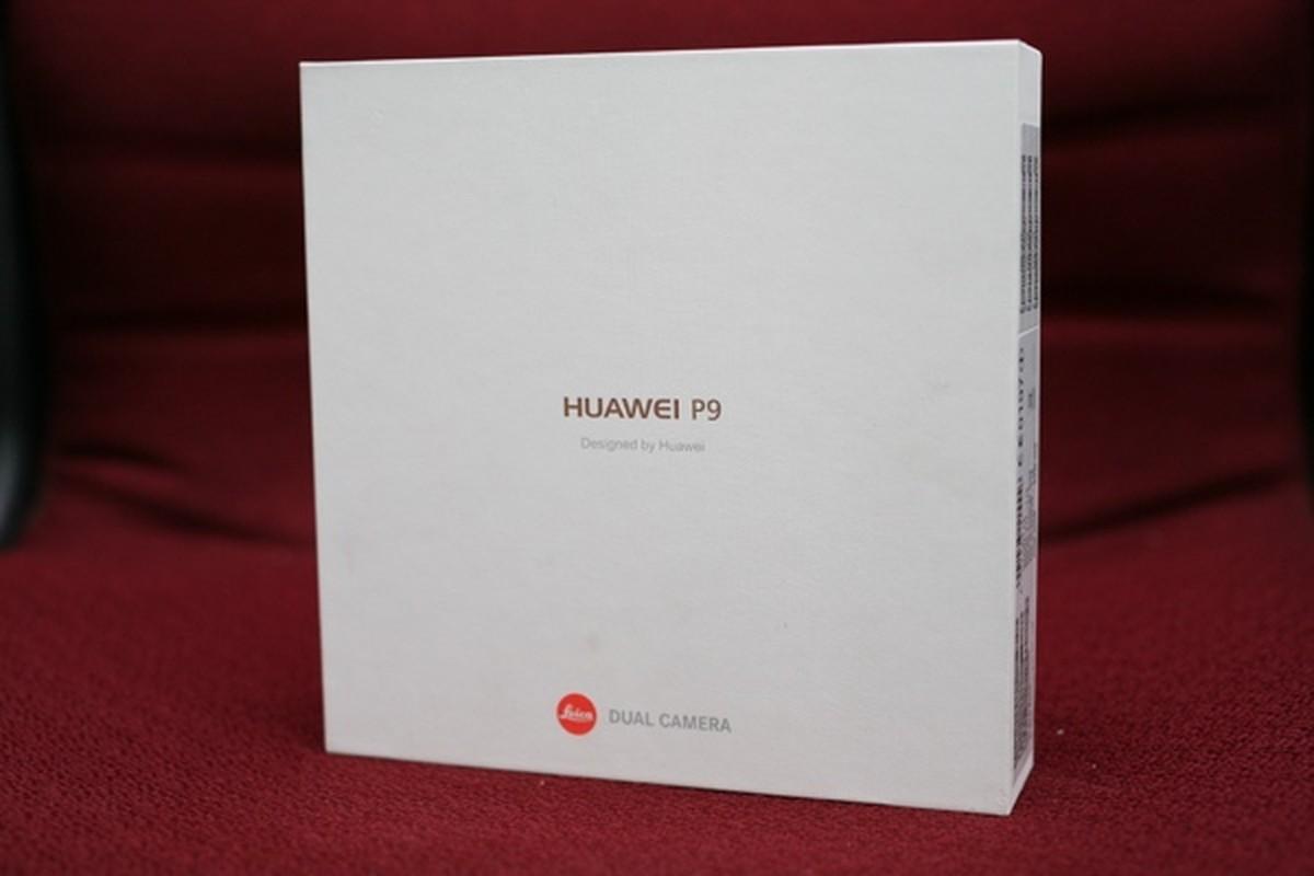 Mo hop dien thoai Huawei P9, hai camera Leica, thiet ke dep