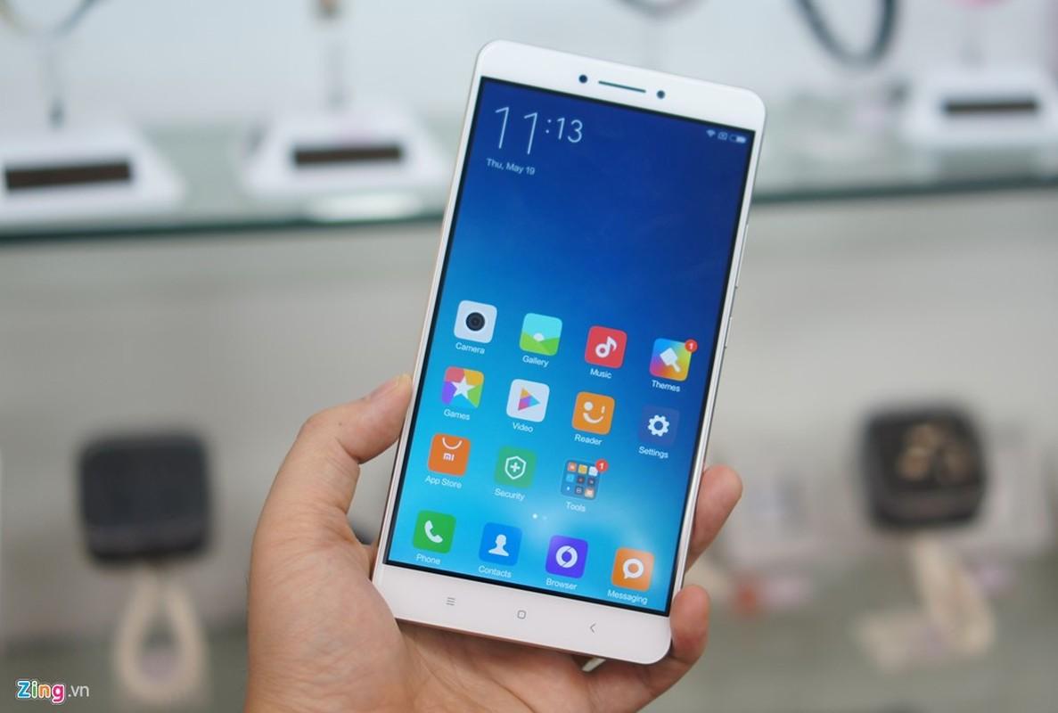 Tan muc dien thoai Xiaomi Mi Max vua ve Viet Nam-Hinh-2