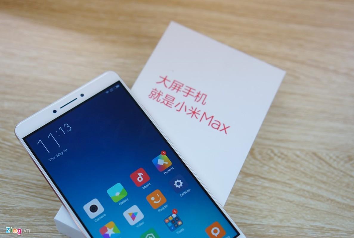 Tan muc dien thoai Xiaomi Mi Max vua ve Viet Nam-Hinh-6