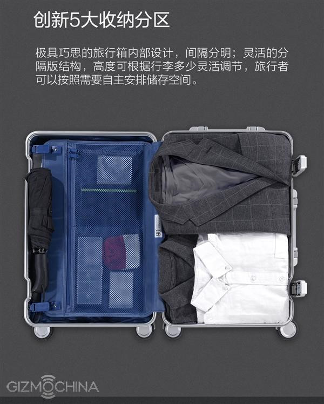 Ngam chiec va-li thong minh cuc dep cua Xiaomi-Hinh-2