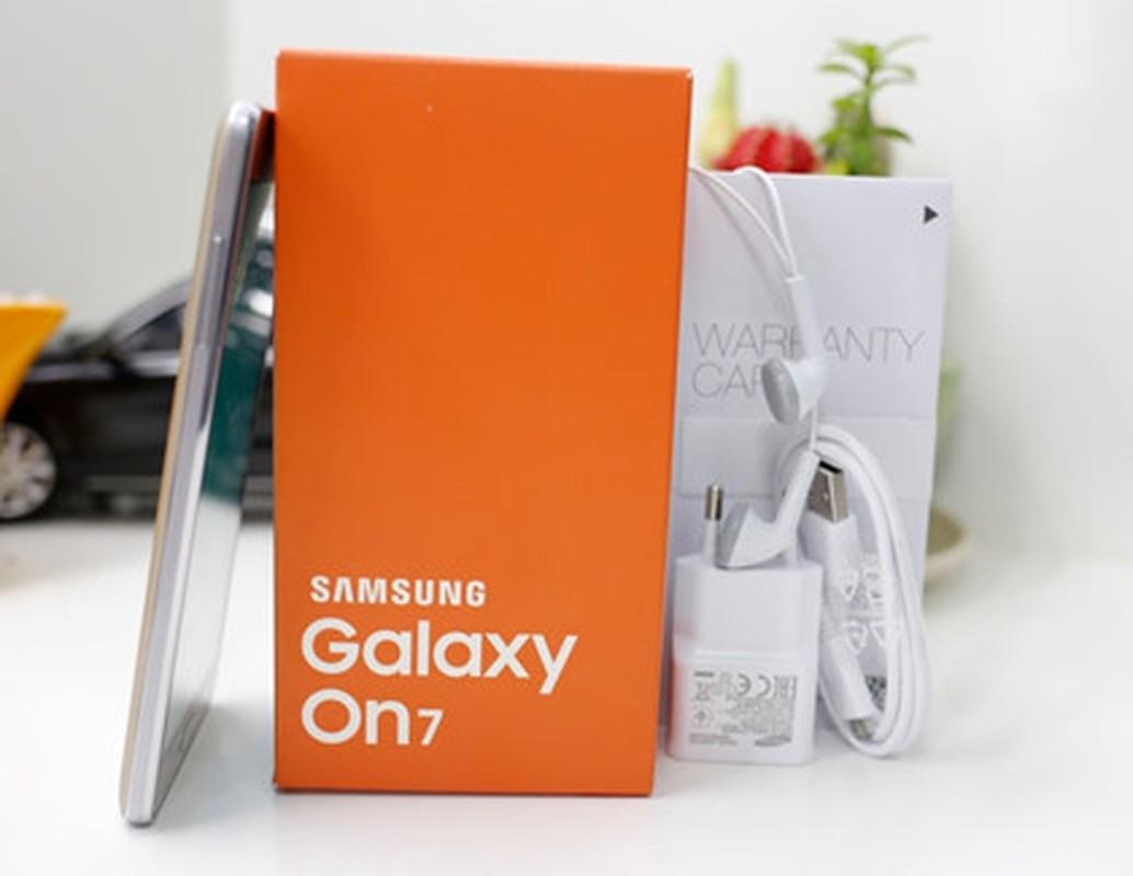 Can canh dien thoai Samsung Galaxy On7 sap tung ra thi truong